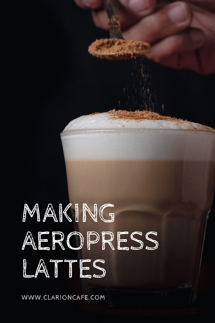 How to Make a Latte at Home with an Aeropress (Iced or Hot)